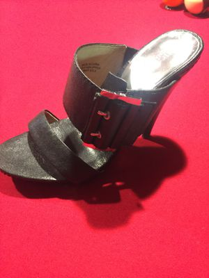 Michael Kors Black Leather High Heel Shoes for Sale in Bartow, FL