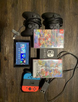 Nintendo Switch And Games for Sale in Camargo, OK