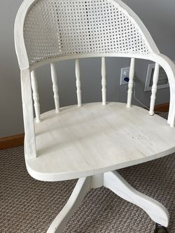 Pending- Vintage/Chic/Boho Rolling Desk Chair for Sale in Hillsboro,  OR