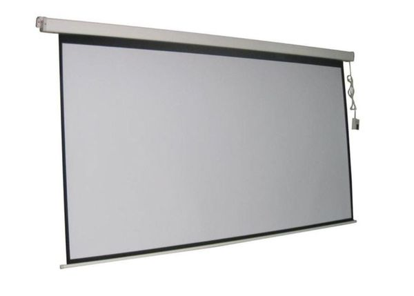 Electric Projector Screen 84 inches