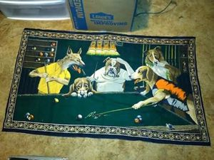 Dogs playing pool for Sale in Belleville, WV