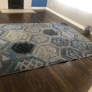 Blue And Gray Area Rug for Sale in Suitland-Silver Hill, MD
