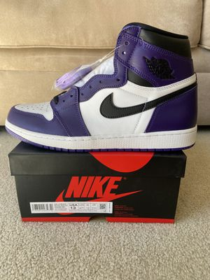 DS Air Jordan 1 Retro High OG Court Purple 2.0 Size 13 for Sale in Renton, WA