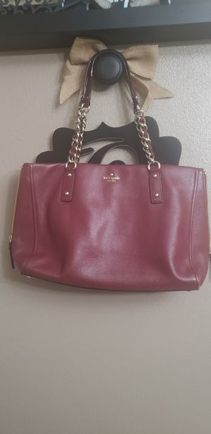 Authentic Leather Kate Spade Purse for Sale in Beaumont, TX
