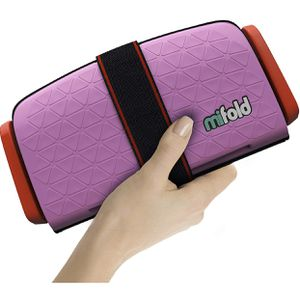 mifold Grab-and-go car Booster seat, Perfect Pink for Sale in El Monte, CA