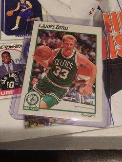 1991 NBA HOOPS LARRY BIRD CARD for Sale in Las Vegas,  NV