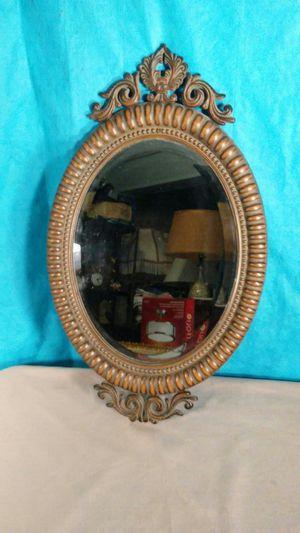 Oval wall mirror for Sale in Saginaw, MI