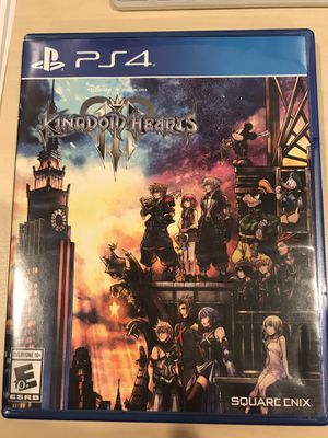 Kingdom hearts 3 PS4 for Sale in Rowland Heights, CA