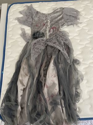 Kids Zombie Bride Costume size small (4-6) for Sale in Grove City, OH