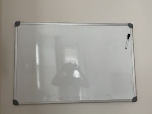 White board and markers for Sale in Durham, NC