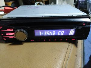 Sony CDX-GT57UP In-Dash CD/MP3/USB Car Stereo Receiver w/ Pandora , iPod Control, Detachable Face for Sale in Indianapolis, IN