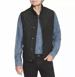 NEW BANANA REPUBLIC WATER RESISTANT LIGHTWEIGHT QUILTED LAYERING VEST BLACK for Sale in Roselle Park, NJ