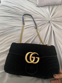 Gucci Velvet Marmont Bag Medium ( Discontinued) for Sale in Brockton,  MA
