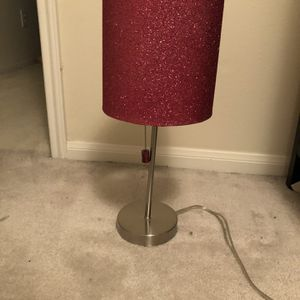 Pink Sparkled Lamp for Sale in Houston, TX