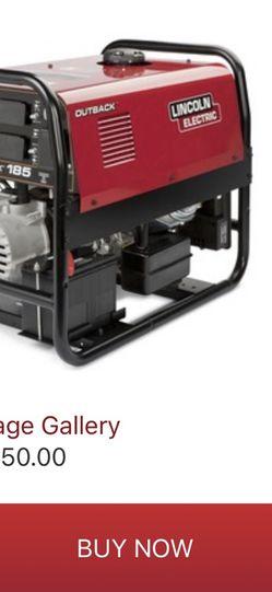 Lincoln Arc Welder & Generator for Sale in Altadena,  CA