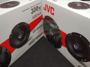 Car speakers: ( 2 PAIRS ) JVC 6.5 inch 2 way 300 watts car speakers Brand new for Sale in Bell Gardens, CA