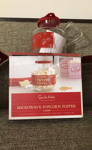 Microwave Popcorn Popper. Please see all the pictures and read the description for Sale in Falls Church, VA