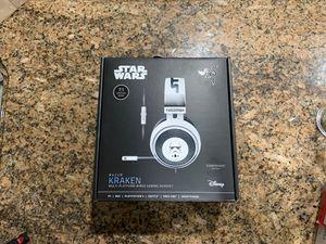 Special edition Razer kraken stormtrooper headset (Pc,Xbox,ps4 compatible) brand new unused for Sale in Chula Vista, CA