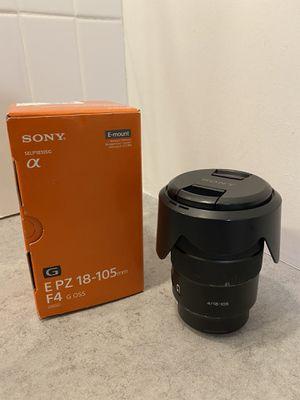 Sony 18-105mm F4 G OSS Lens for Sale in Grand Prairie, TX