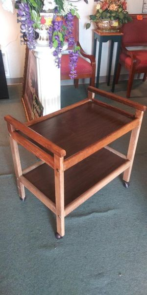 Serving Cart With Wheels for Sale in Lancaster, TX