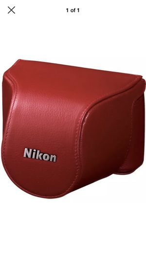 Nikon j1 camera with lense battery charger and camera bag for Sale in Alexandria, VA