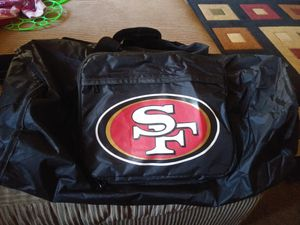 49er duffle bag for Sale in Stockton, CA