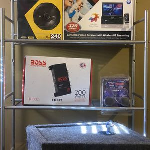 Car Audio Equipment for Sale in Montgomery, AL