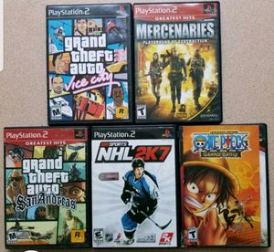 5 - PS2 games for Sale in San Angelo, TX