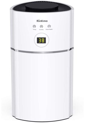 RINKMO Portable Mini Dehumidifiers for Small Space Up to 1900 Cubic Feet(215 sq ft), Quiet Compact Home Electric Dehumidifier for Kitchen, Bedroom, B for Sale in Upland, CA