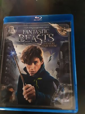Fantastic Beasts and where to find them blu ray for Sale in Fresno, CA