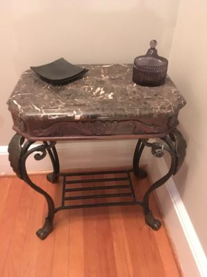Marble Top Side Table for Sale in Washington, DC