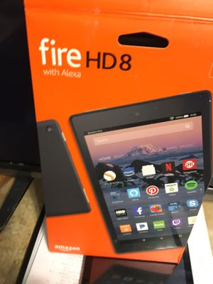 Amazon Fire HD 8 With Alexa for Sale in Tampa, FL