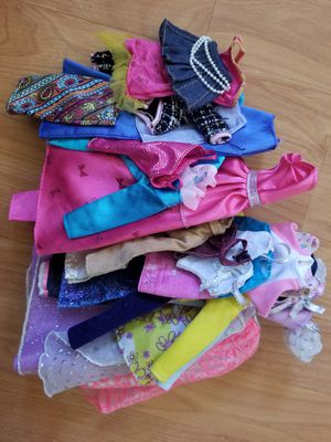 Barbie doll clothes bundle for Sale in Covina, CA