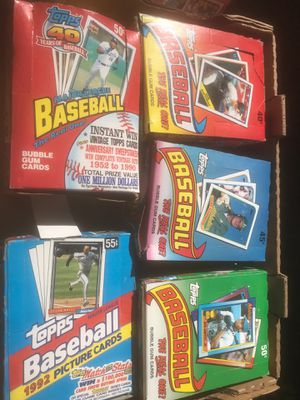 Vintage Topps Baseball Cards for Sale in La Mesa, CA