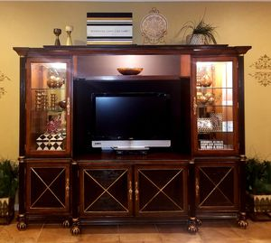 entertainment center by A.R.T furniture for Sale in Estero, FL