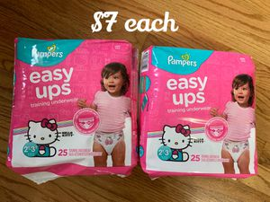 Pampers pull ups for Sale in Chicago, IL