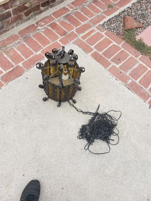 Vintage Spanish hanging lamp for Sale in Pico Rivera, CA