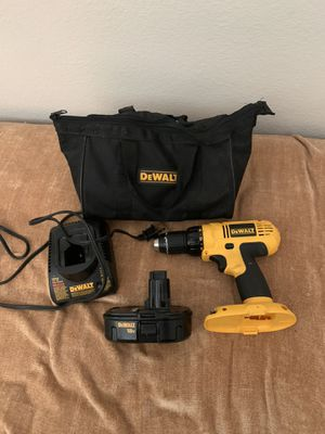 DeWalt 18v Drill w/ Battery and Charger for Sale in Phoenix, AZ
