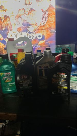 Oils and antifreeze for Sale in Anaheim, CA