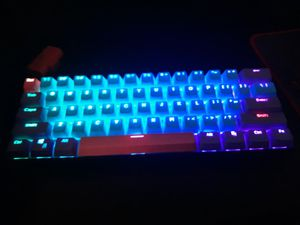 60% keyboard for Sale in Rialto, CA