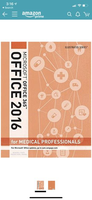 Microsoft Office 365-2016 edition for Medical Professionals for Sale in Dearborn Heights, MI