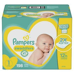 Pampers swaddlers size 1 for Sale in Austin, TX