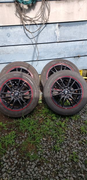 "16"" rim's and tires for Sale in Scottsville, VA"