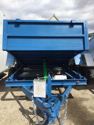 8x10x2 DUMP TRAILER for Sale in Montclair, CA