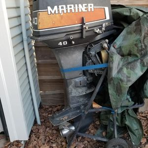 40hp Mariner Outboard for Sale in Houston, TX