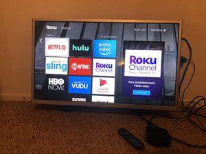 Samsung TV, Roku, & Mount for Sale in Visalia, CA