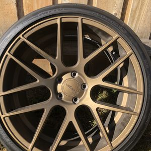 Staggered 20x9 And 20x10.5 5x114.3 Velgen VMB7 Bronze Wheels With Nitto Invo Tires for Sale in Vienna, VA