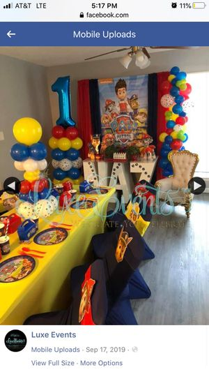 Balloons for your next event.: birthday , parties, weddings, baby shower, gender reveal etc. for Sale in Charlotte, NC