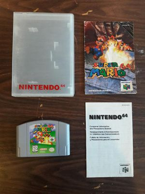 LIKE BRAND NEW Mario 64 Game for Sale in Riverside, CA
