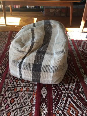 Plaid Pouf for Sale in Brooklyn, NY